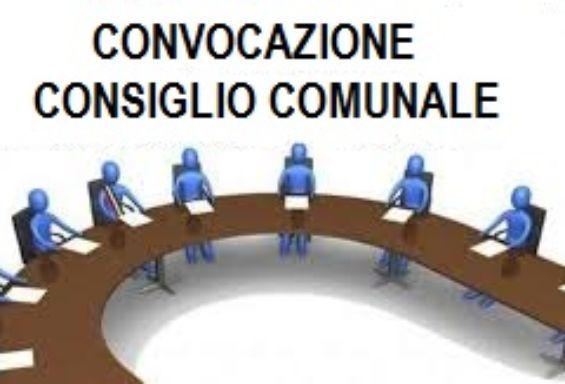 CONVOCAZIONE CONSIGLIO COMUNALE  PER LUNEDI' 12/10/2020