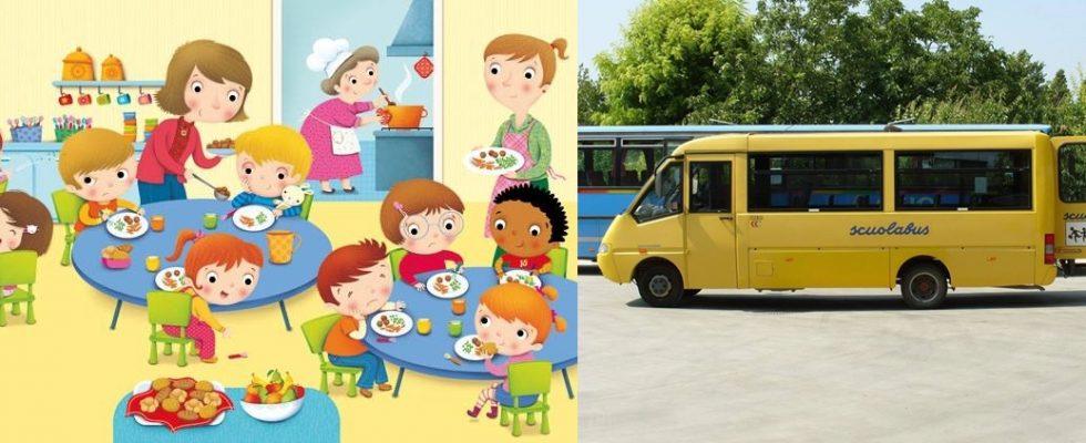 Iscrizioni al servizio della mensa scolastica e del trasporto scolastico per l'anno 2020/2021